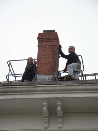Chimney Sweep Amp Masonry Repair Services In Dennis Ma Old