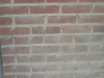 Dusty brick wall